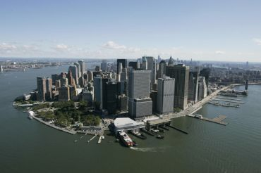 Downtown Manhattan.