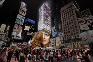 Rendering of Times Square Gateway Center.