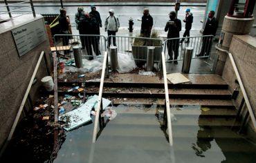 Hurricane Sandy.