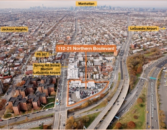 A lot at 112-21 Northern Boulevard is attracting interest from buyers both at home and abroad, according to Eastern Consolidated.