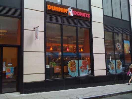 While New York City has seen slow growth in retail chains, Dunkin' Donuts still has the most stores of any chain in the city with 568 outposts.