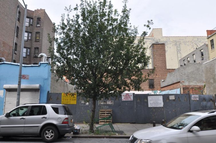 247 East 117th Street Site. (Courtesy of PropertyShark)
