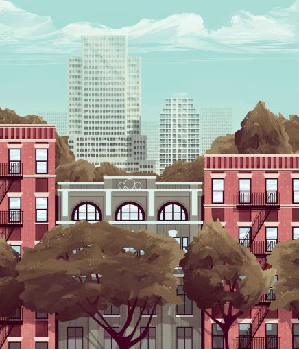 Financing Mayor de Blasio's 200,000 Affordable Housing Units (Illustration by Jack Hughes)