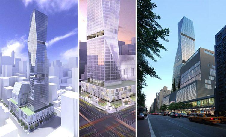 Rendering of 250 East 57th Street by Skidmore, Owings & Merrill's Roger Duffy