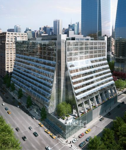 Renderings of 450 West 33rd Street