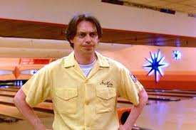 Steve Buscemi as 'Donny' in The Big Lebowski, looking not particularly happy.