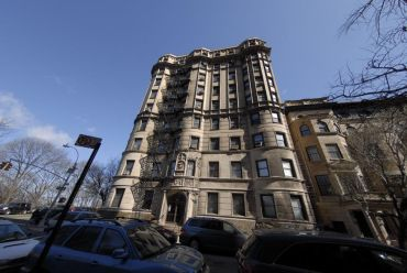 120 Riverside Drive, one of the two buildings sold in the deal