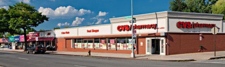 CVS Pharmacy at Francis Lewis Boulevard Shopping Center (Credit: Muss Development)