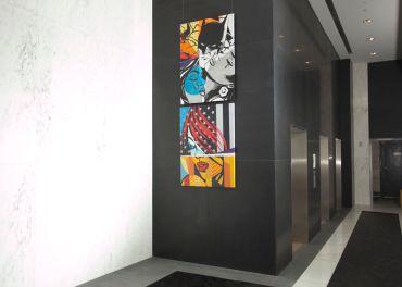 Installation by Sen2 at 915 Broadway