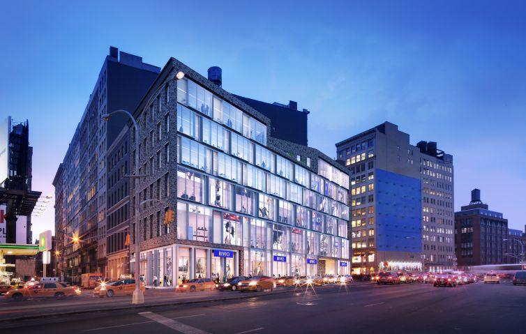 Rendering of 606 Broadway