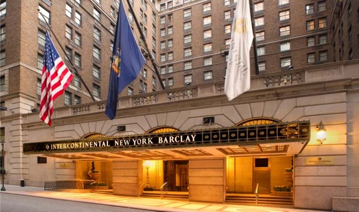 InterContinental New York Barclay at 111 East 48th Street