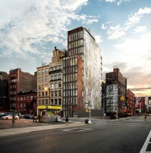 Rendering of 22 Bond Street.