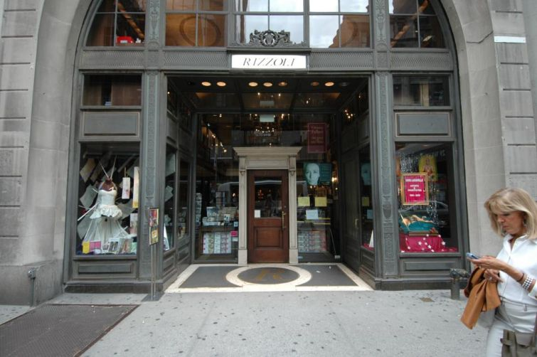 Rizzoli Bookstore before it shuttered last month.