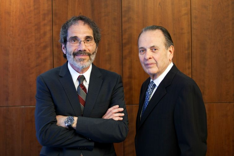 Stan Lindenfeld and Henry Goldfarb