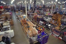 The inside of a BJ's Wholesale Club
