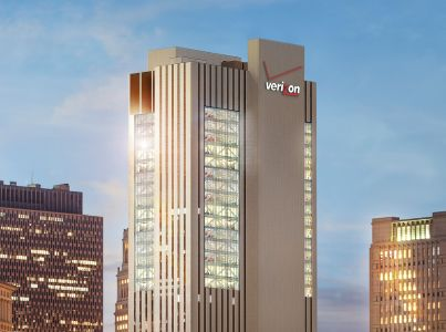 Rendering of the renovated 375 Pearl Street.