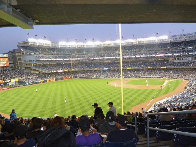 Yankee Stadium.