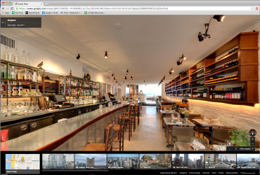 Google Maps interior view of Giorgione restaurant.