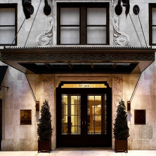 The Surrey Hotel at 20 East 76th Street