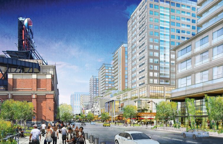 Willets Point rendering.