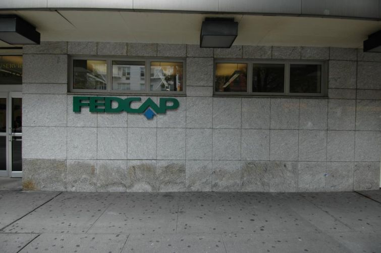 FedCap's former headquarters at 211 West 14th Street. (PropertyShark.)