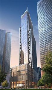 A rendering of 3 World Trade Center