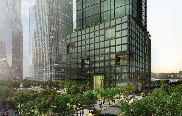 55 Hudson Yards.