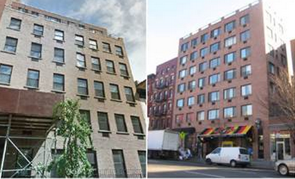 407 West 51St Street (left) and 626 10th Avenue