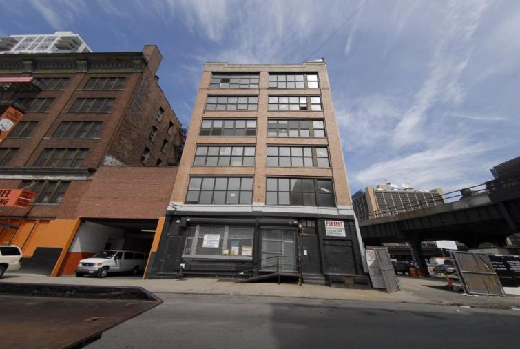 Existing Warehouse Building at 515 West 29th Street.