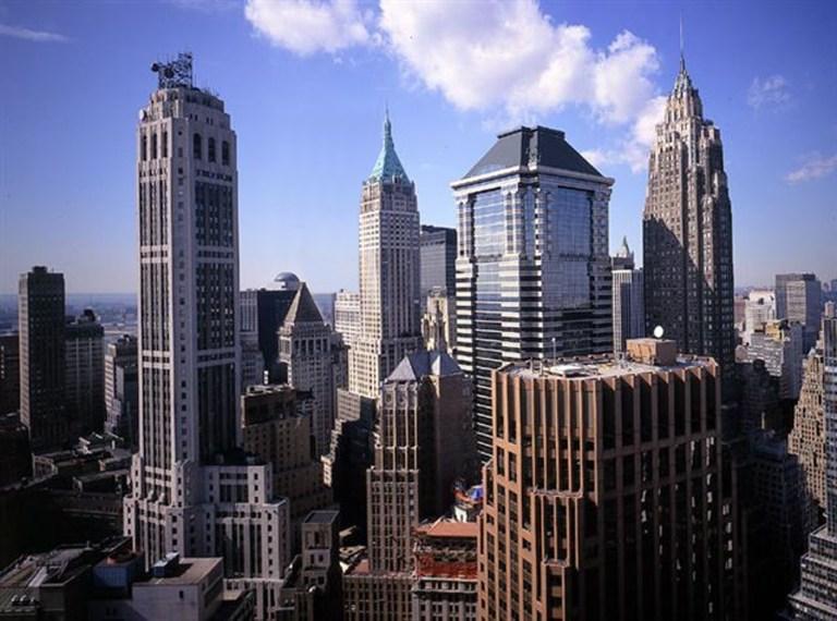Lower Manhattan Skyline Including 20 Exchange Place