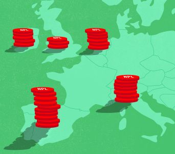 The nonperforming loan market in Europe is moving south.