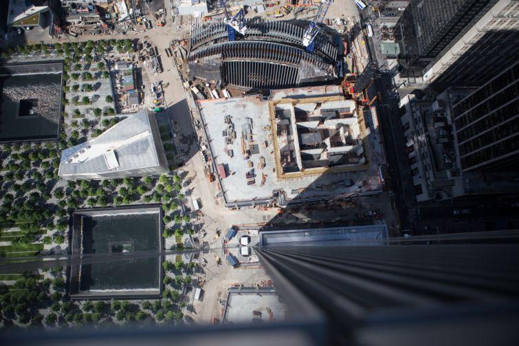 WTC construction