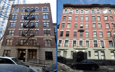 110 West 111th Street and 247 West 113th Street, from left.