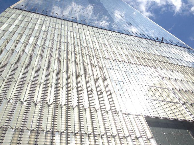 Base of One World Trade Center