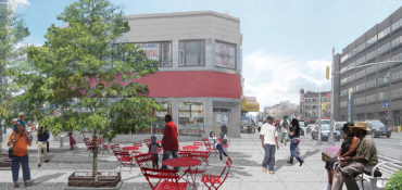Rendering of Fox Square