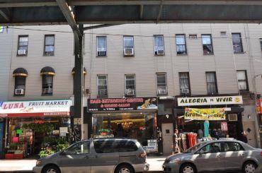 1452 Myrtle Avenue, 1450 Myrtle Avenue and 1488 Myrtle Avenue, from left.