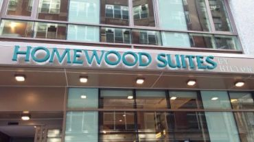 Hilton Homewood Suites at 312-318 West 37th Street.