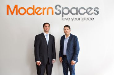 Modern Spaces' Evan Daniel, left, and Eric Benaim