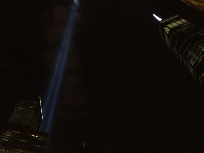 WTC at night