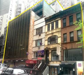 131-141 East 47th Street. (Masskey Knakal Realty Services marketing materials)