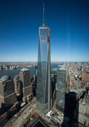 1 World Trade Center (Photo: Andrew Burton/Getty Images).