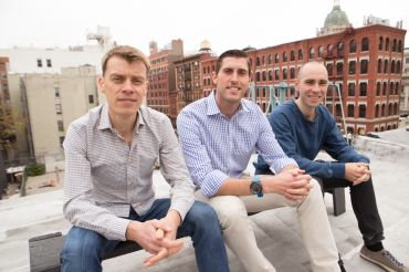 Hightower co-founders Donald Desantis, Brandon Weber and Niall Smart (from left).