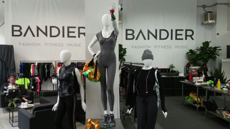 Bandier has opened a pop-up shop in the Flatiron District.