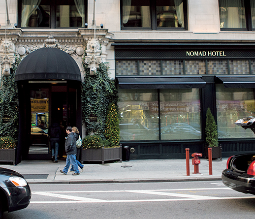 The NoMad Hotel at 1170 Broadway.