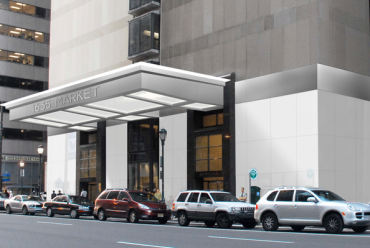 Seven Penn Center at 1635 Market Street.