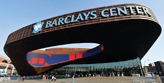 The Barclays Center.