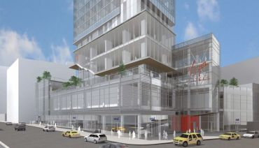 Rendering of the future Virgin Hotel in NoMad.