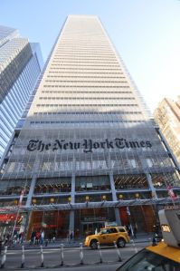 The New York Times Building at 620 Eighth Avenue.