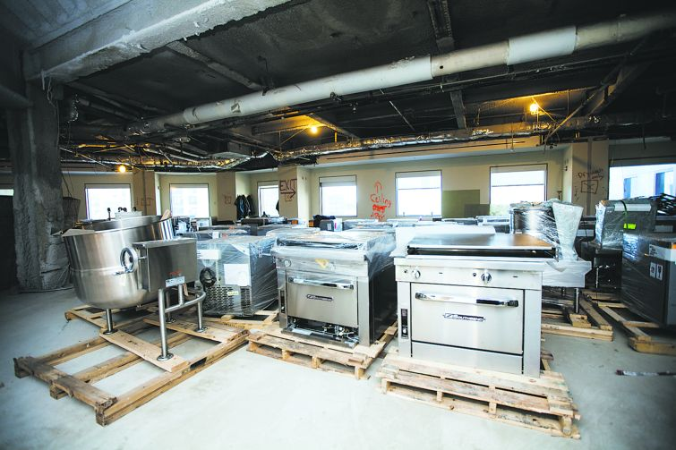 Kitchen equipment worth $1 million was purchased for I.C.E.