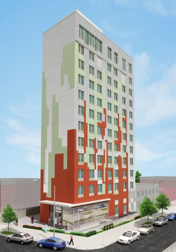 A rendering of the La Quinta hotel planned for Long Island City.